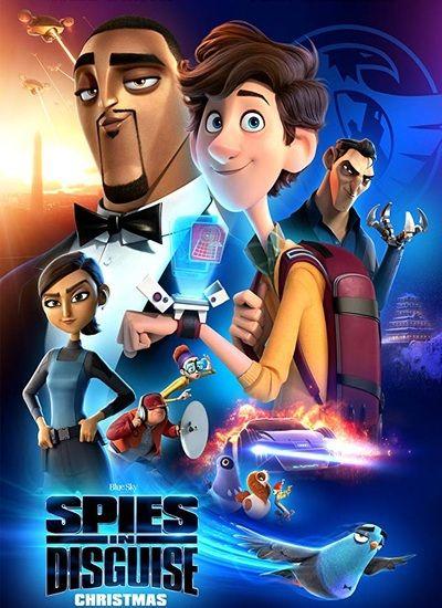 دانلود انیمیشن جاسوسان نامحسوس Spies in Disguise 2019