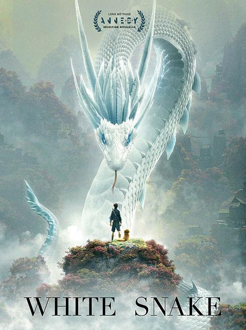 دانلود انیمیشن White Snake 2019 با دوبله فارسی