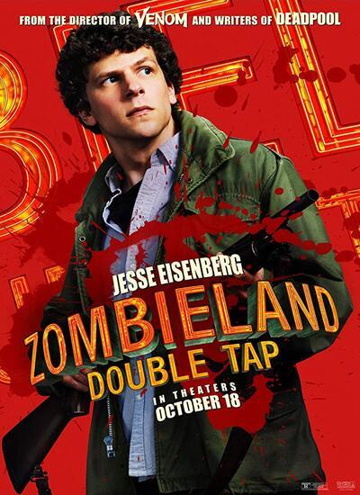دانلود فیلم سرزمین زامبی ها 2 دوبله فارسی 2019 Zombieland Double Tap