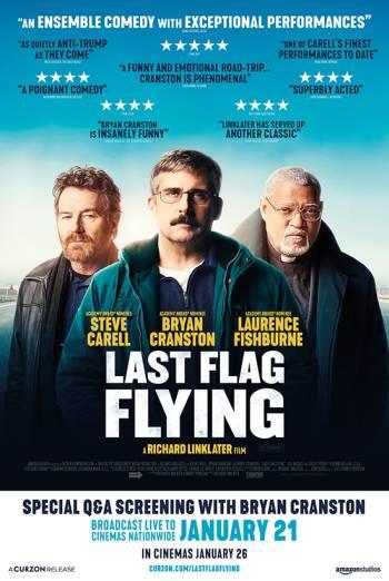 دانلود فیلم اهتزاز آخرین پرچم Last Flag Flying 2017 دوبله فارسی