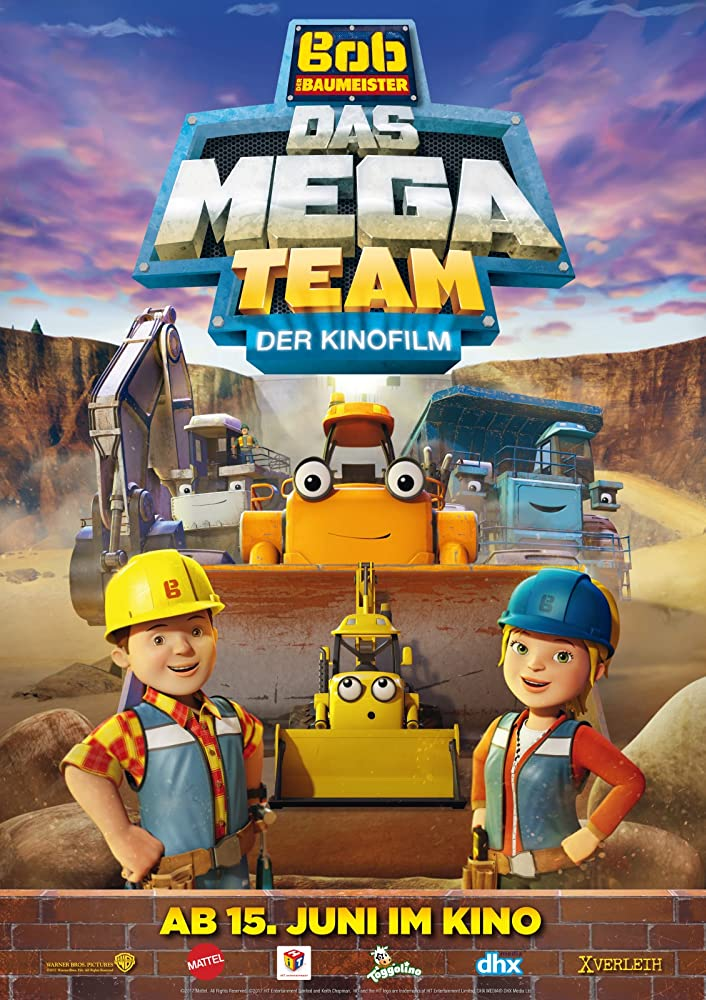 دانلود انیمیشن Bob the Builder: Mega Machines 2017
