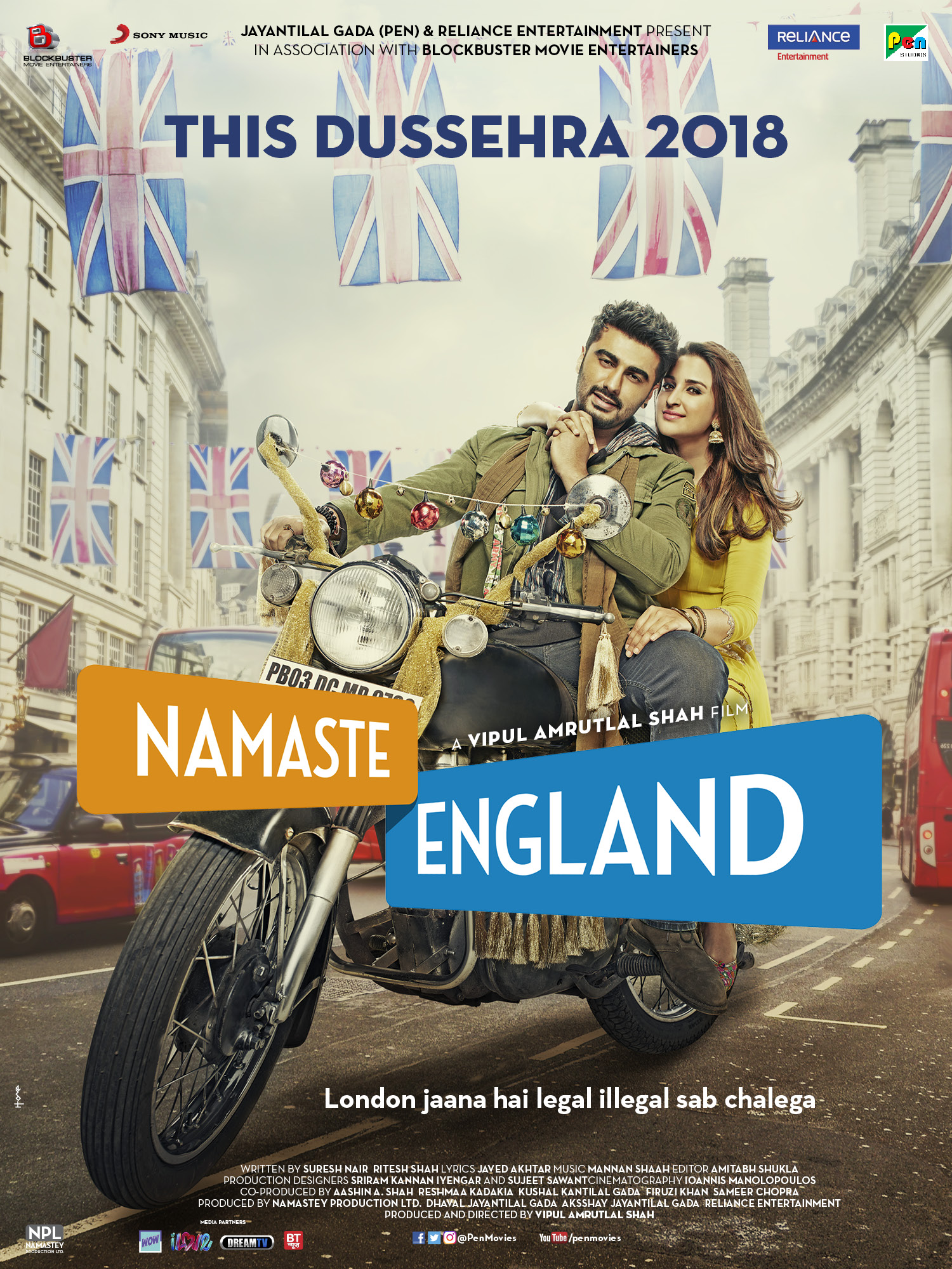 فیلم سلام انگلیس Namaste England 2018