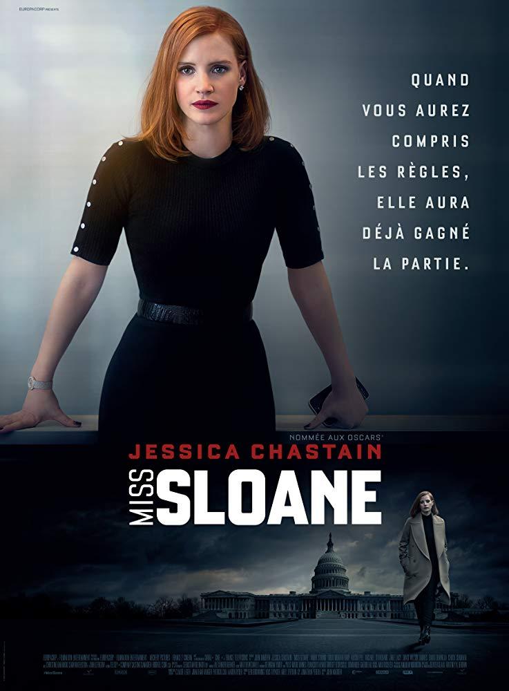 دانلود فیلم دوشیزه اسلوان (دادگاه) Miss Sloane 2016 دوبله فارسی