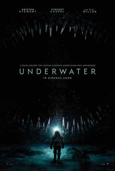 دانلود فیلم زیر آب Underwater 2020