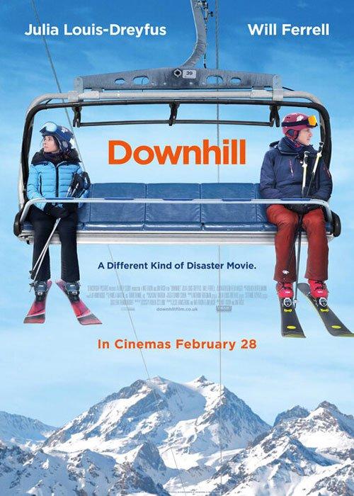 دانلود فیلم سراشیبی Downhill 2020