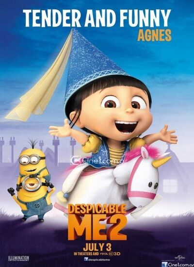 دانلود انیمیشن من نفرت انگیز 2 دوبله فارسی Despicable Me 2 2013
