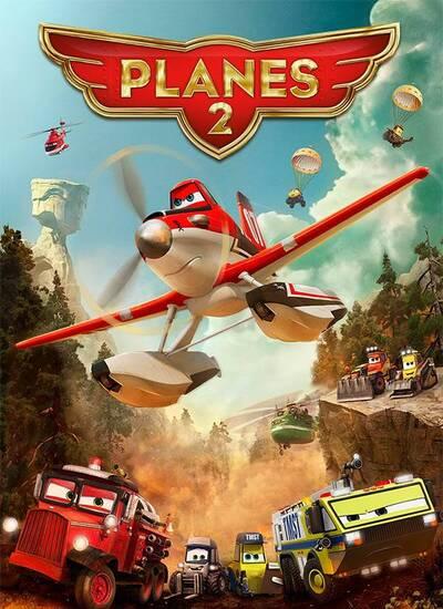 دانلود انیمیشن هواپیماها 2 دوبله فارسی Planes Fire & Rescue 2014