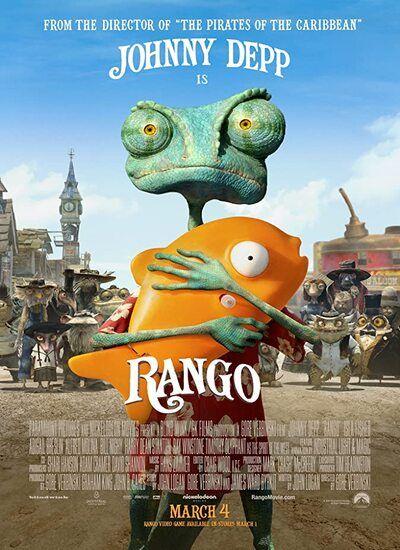 دانلود انیمیشن رنگو دوبله فارسی Rango 2011