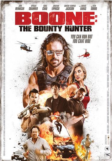 دانلود فیلم شکارچی جایزه بگیر Boone: The Bounty Hunter 2017