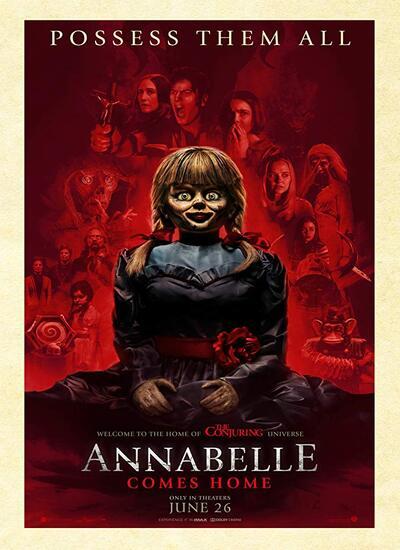 دانلود فیلم آنابل 3 2019 Annabelle Comes Home دوبله فارسی