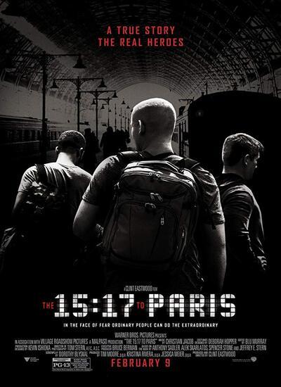 دانلود فیلم قطار 15:17 به مقصد پاریس دوبله فارسی 2018 The 15:17 to Paris
