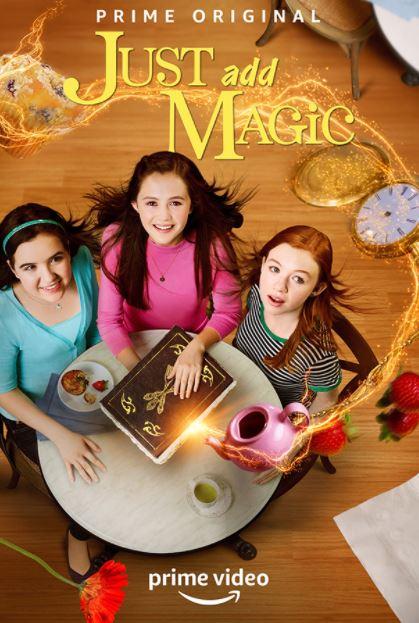 دانلود سریال جادو رو اضافه کن Just Add Magic