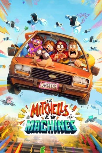 دانلود انیمیشن میچل ها در مقابل ماشین ها The Mitchells vs. the Machines 2021 دوبله فارسی