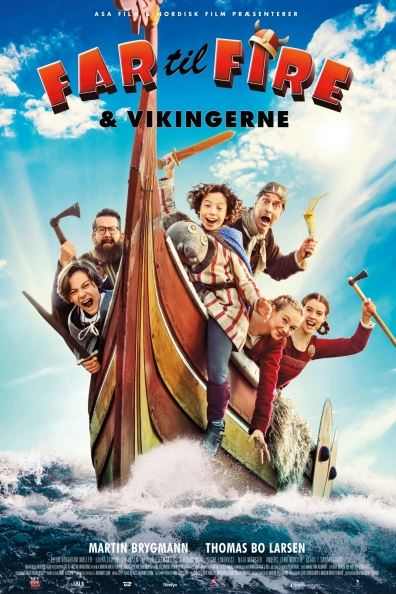 دانلود فیلم پدر چهار فرزند و وایکینگ ها Father of Four and the Vikings 2020