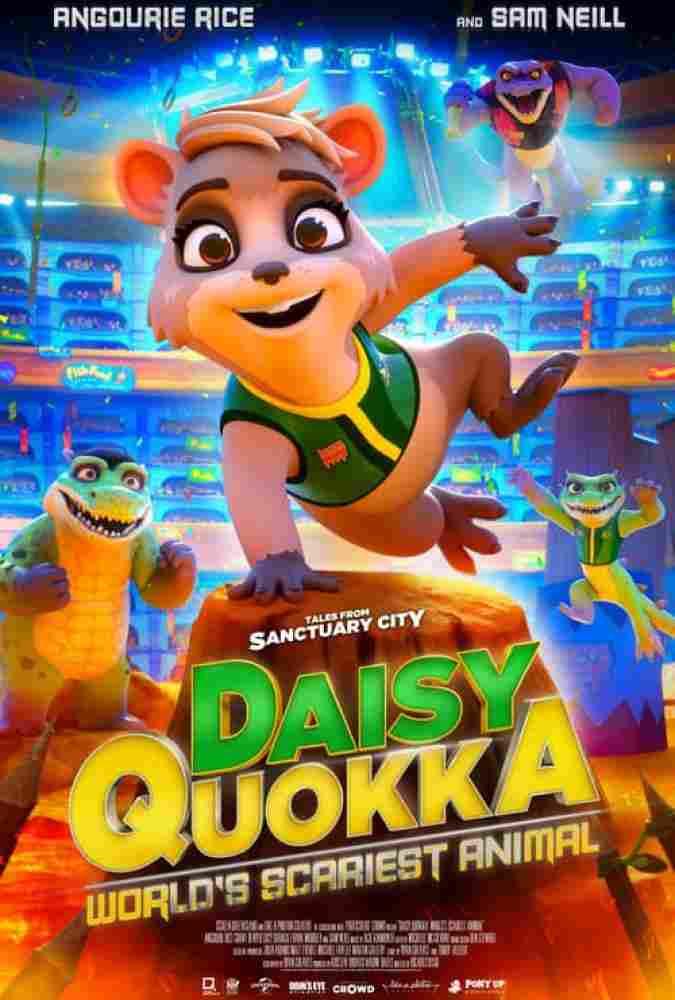 دانلود انیمیشن دیزی کوئوکا دوبله فارسی Daisy Quokka 2020
